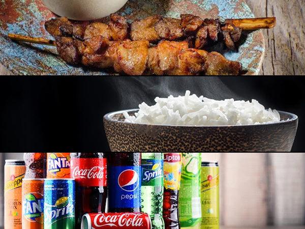 entree riz boisson